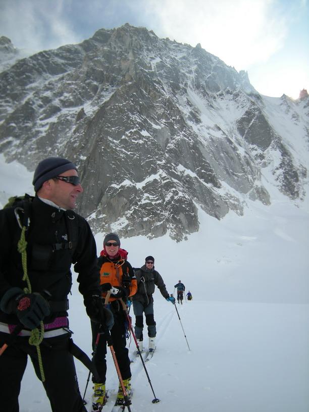 Olivier dufour guide de haute montagne haute route for Haute route chamonix zermatt