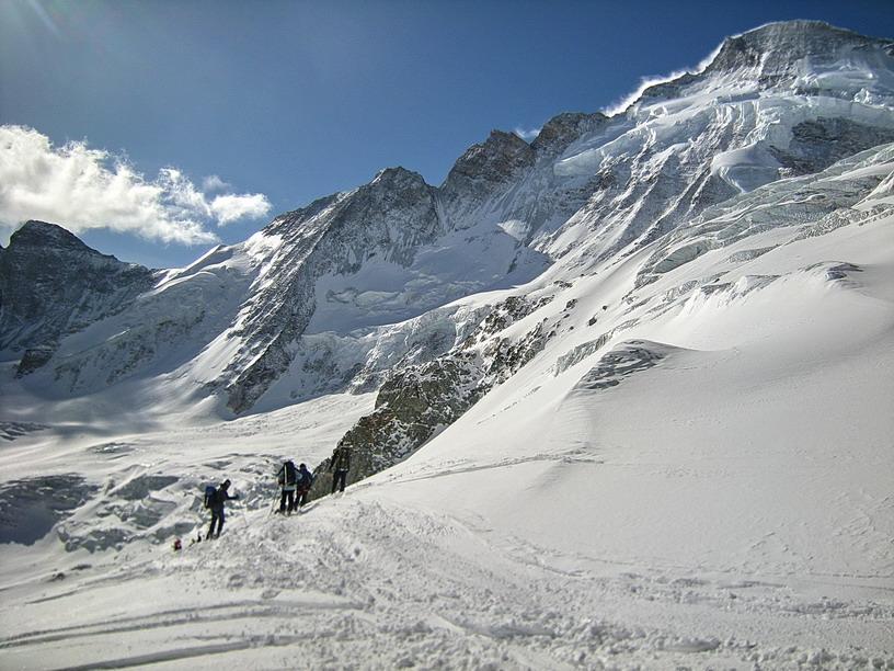 Olivier dufour guide de haute montagne photos de la for Haute route chamonix zermatt