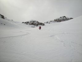 Tour du Wildstrubel à skis