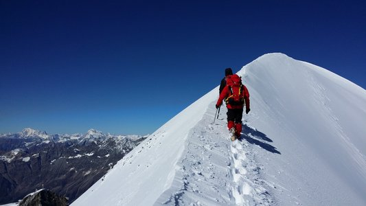 Ascension du Breithorn