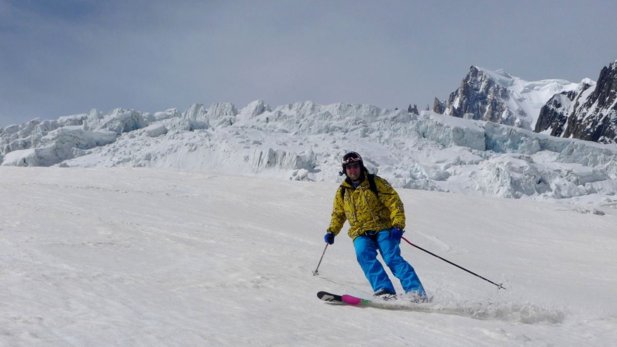 Olivier dufour guide de haute montagne actualit ski for Salle a manger vallee blanche